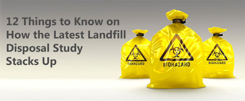 12 Things to Know on How the Latest Landfill Disposal Study Stacks Up
