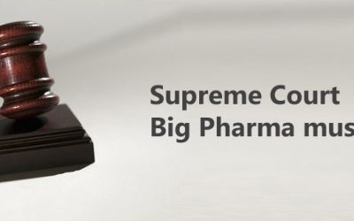 Supreme Court : Big Pharma must pay!