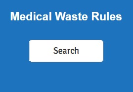 Medical Waste Rules